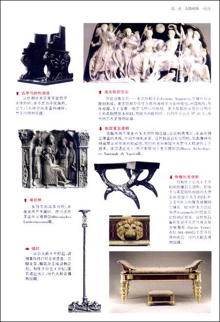 西方家具集成:一部风格、品牌、设计的历史