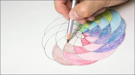 五分钟曼陀罗彩绘减压:最佳绘画自我提升书