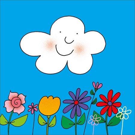 可爱的故事里,孩子们可以和奥尔加一起认识花草树木,认识天空,白云,大