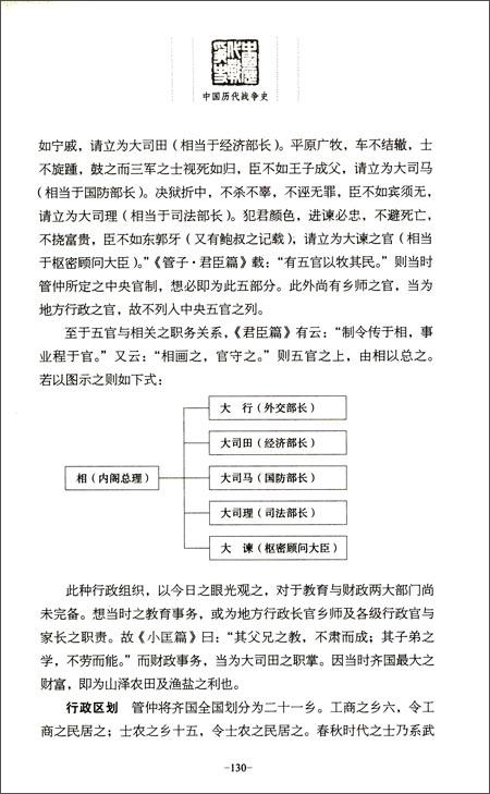 中国历代战争史•第1辑