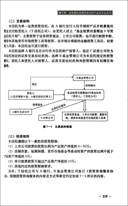 信泽金智库系列丛书:金融信托投融资实务与案例