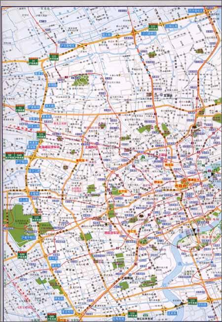 上海•江苏•浙江•安徽行车地图