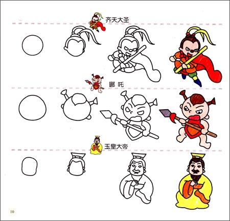 回至 幼儿创意联想画:卡通人物(3岁以上适用) (平装)