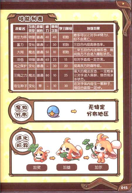 洛克王国•宠物大图鉴8