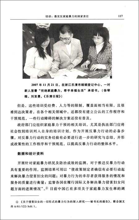 中国反家庭暴力行动报告