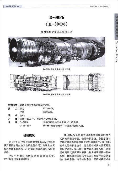 世界航空发动机手册