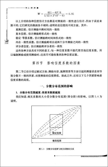 上海普通高校优秀教材:心理测量