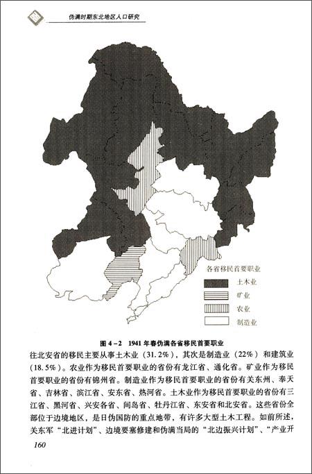 伪满时期东北地区人口研究 填补东北地区人口变迁的研究空白