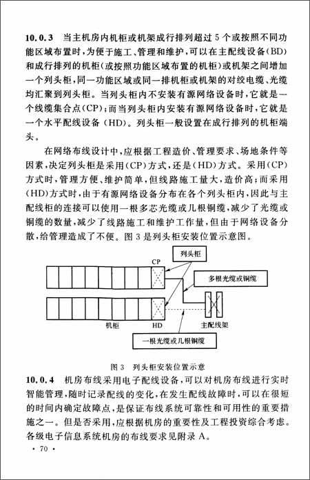 中华人民共和国国家标准:电子信息系统机房设计规范