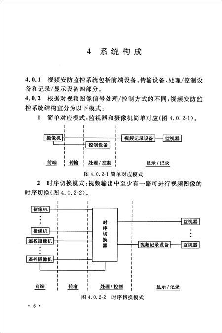 中华人民共和国国家标准:视频安防监控系统工程设计规范