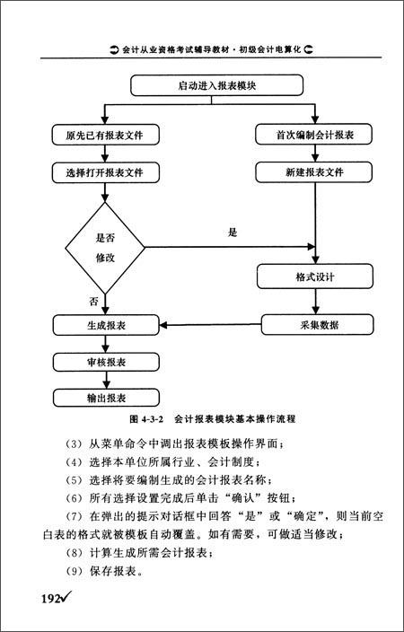 会计从业资格考试辅导教材:初级会计电算化