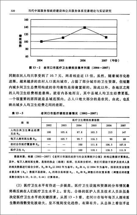 当代中国服务型政府建设和公共服务体系完善理论与实证研究:以促进社会公平正义为依归