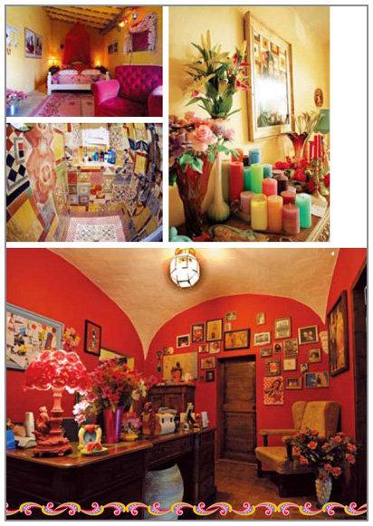 色彩斑斓的风格小屋:25个玩色家居表情