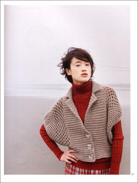 我最想穿的手编毛衣