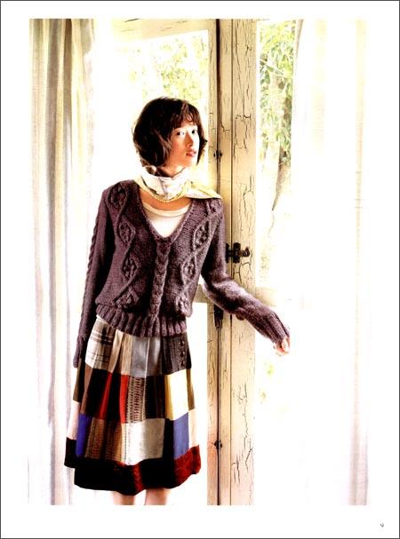 22款北欧阿伦花样的手编毛衣&小物