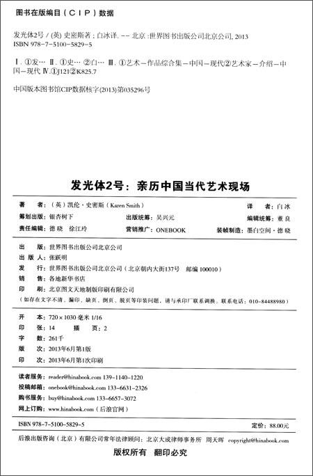 发光体2号:亲历中国当代艺术现场