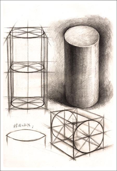 结构&明暗3:几何体结构明暗对比范本(黄金典藏版)