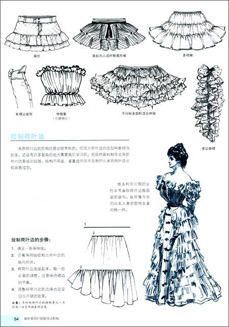 最新美国时装画技法教程(第二版)(附赠2张光盘.