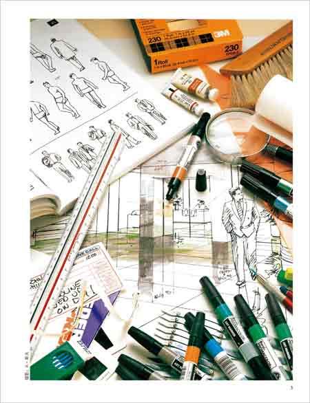 马克笔的魅力:美国建筑效果图的绘制秘技