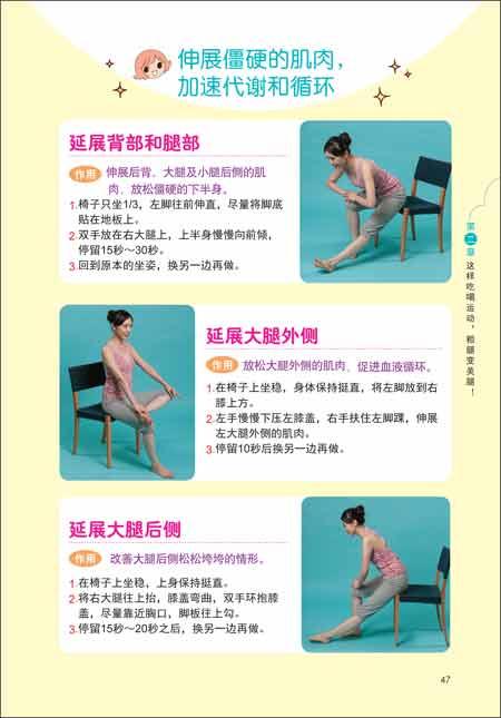 瘦大腿的肌肉SPA瑜伽操