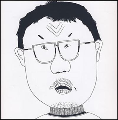 线描速写人物图片 人物线描黑白画 人物黑白线描画作品