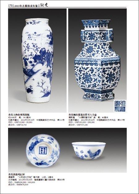 2013古董拍卖年鉴:陶瓷卷