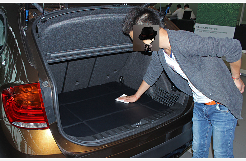 威利 后备箱垫 宝马x1五座皮革后备箱垫 s 米色 2010年