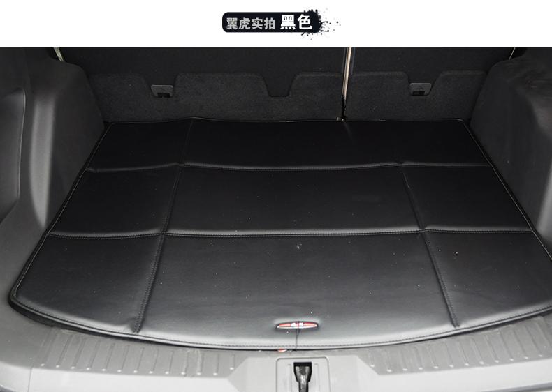 威利 后备箱垫 福特翼虎五座皮革后备箱垫 s 黑色 2013年