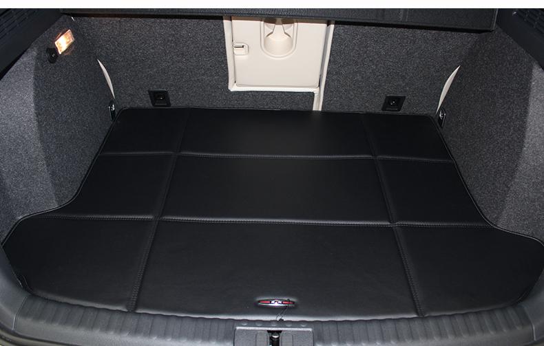 威利 后备箱垫 大众途观五座后备箱垫 m 黑色 2013年