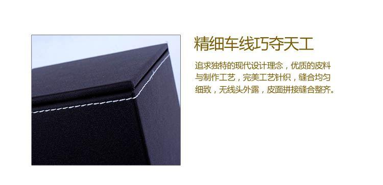 欧式高档皮质正方形纸巾盒咖石