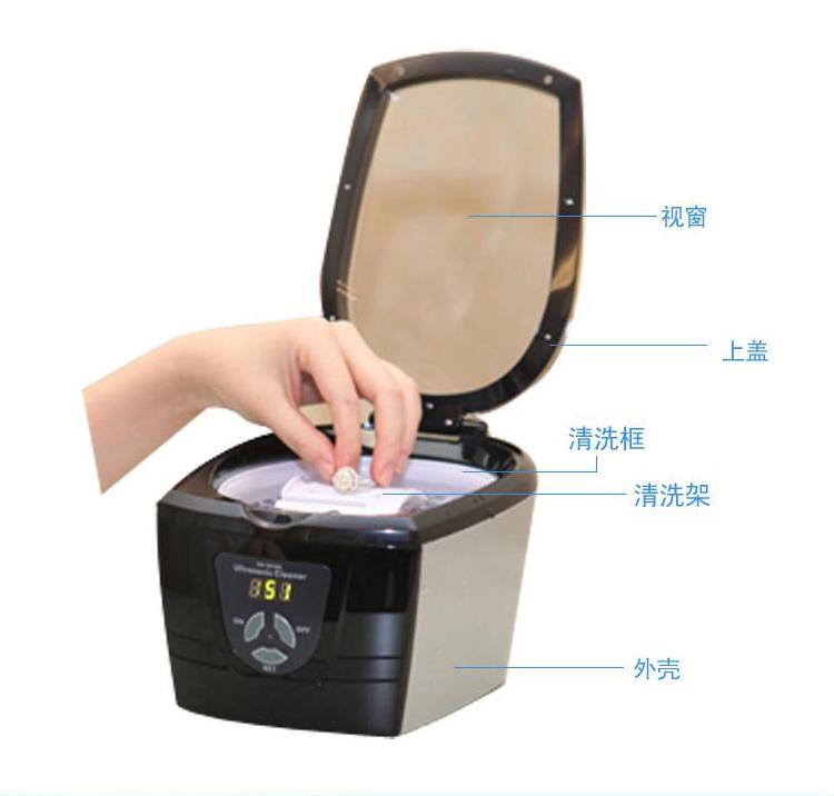 双狮手表清洗方法介绍,图解双狮手表清洗步骤