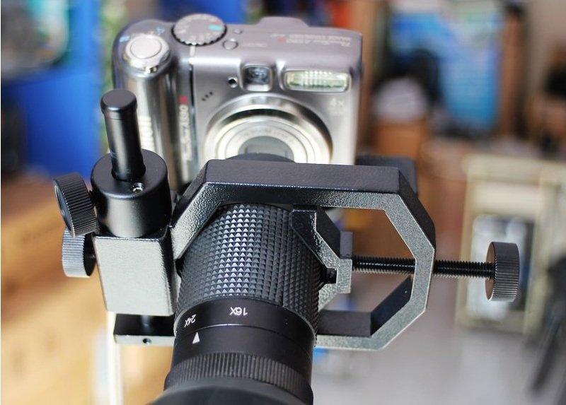 celestron 星特朗望远镜金属相机支架(黑色)