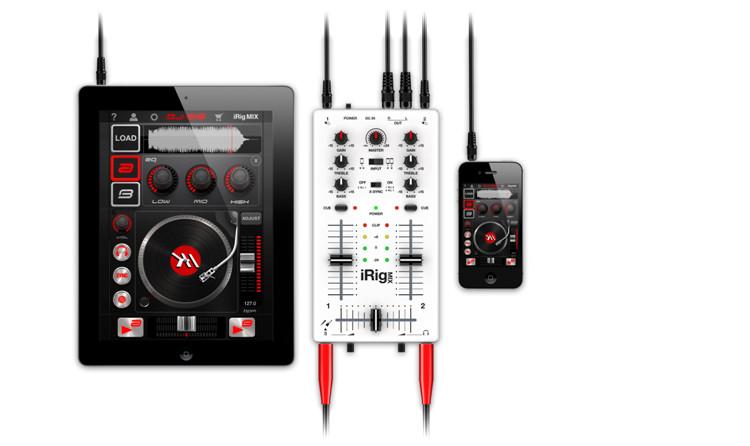ik multimedia irig mix 混音器 (白色)