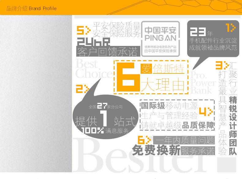 -Besiter倍斯特BST-0137便携v手机手机电源充的手机零件图片