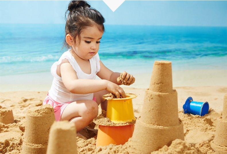 特宝儿 onni系列城市3件套装 儿童沙滩城堡玩具套装120149