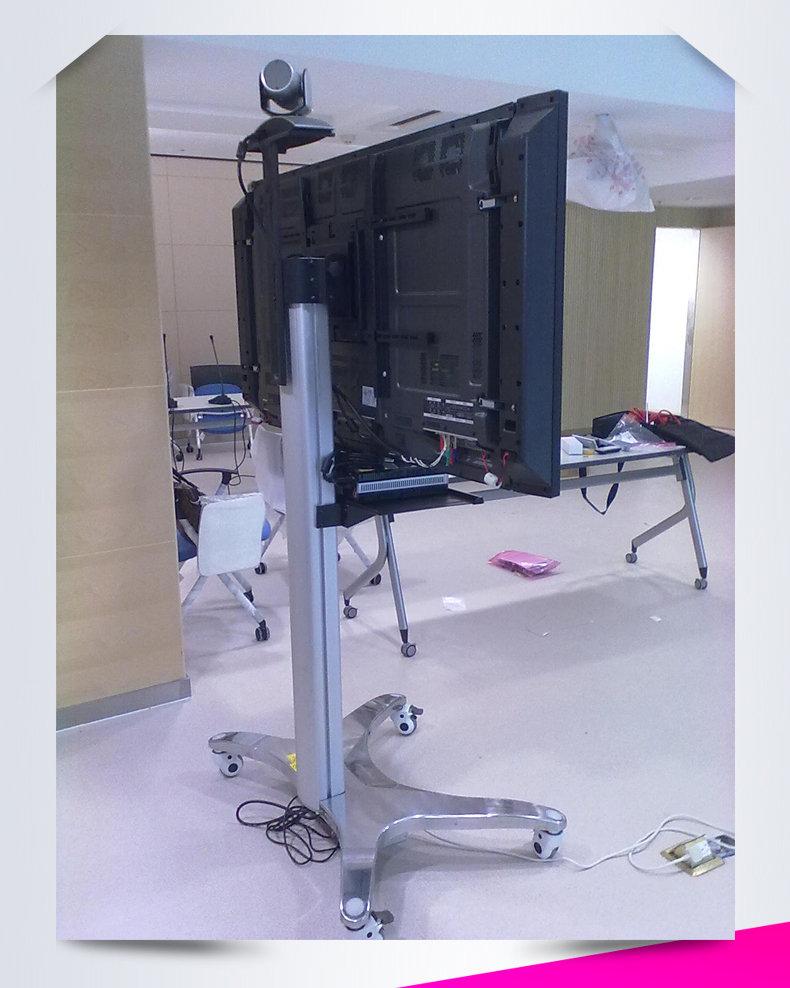 设计柱子为1500mm,全铝电视,100磅承重,配挂40~~~~60寸的视频高度加派测试平板速图片