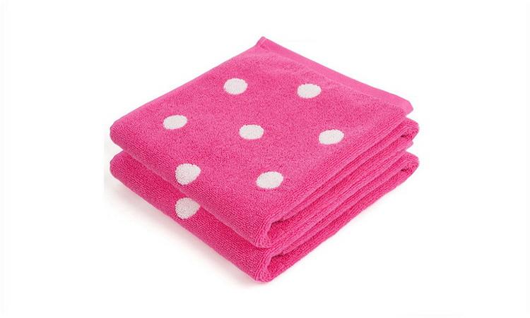 枕巾折花步骤图