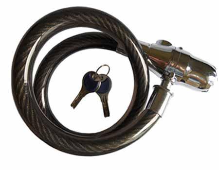 回至 凯轮 报警超粗钢丝锁315 电动车,摩托车保护利器