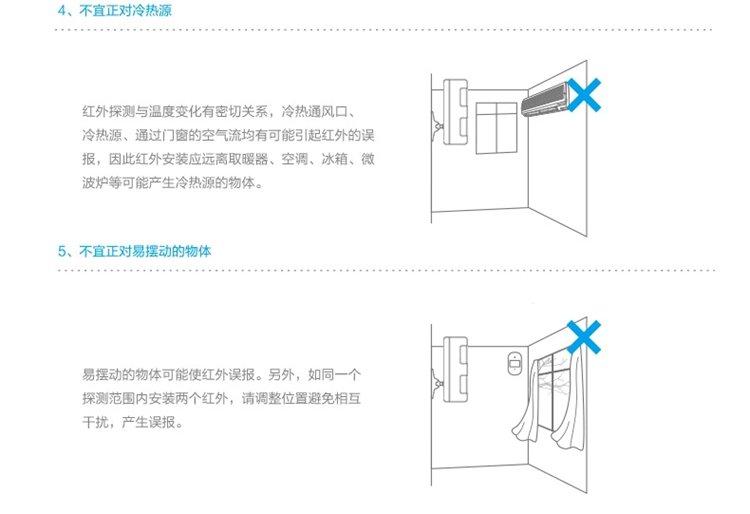 chuango创高rfid智能安防家庭店铺用红外线电子防盗报警器cg-g5(英国