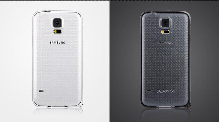 devia 迪沃 三星galaxy s5超薄金属边框(表扣版)金色
