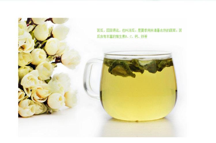 计尔康山苦瓜茶3.5g/袋*32袋/桶