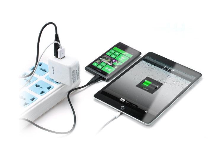 双usb ipad充电器