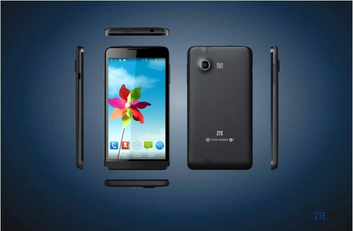 中兴(zte)u889 3g手机 td-scdma/gsm 双卡双待四核(黑色)