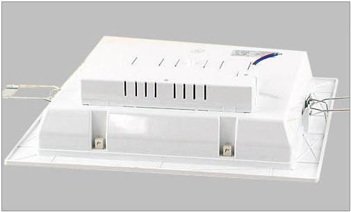 吸顶灯 欧普嵌入厨卫灯mq185-y45乳白(45w)          比普通镇流器更图片