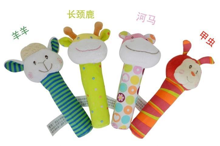 婴儿棒针织袜子