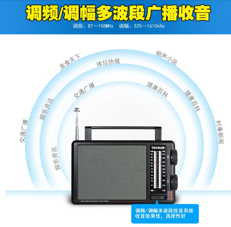 调频采用了双调谐高放电路,接收调频广播灵敏度更高,选择性更好