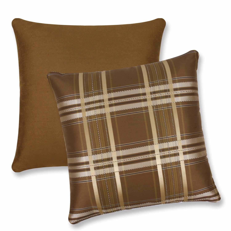 咖啡色欧式抱枕