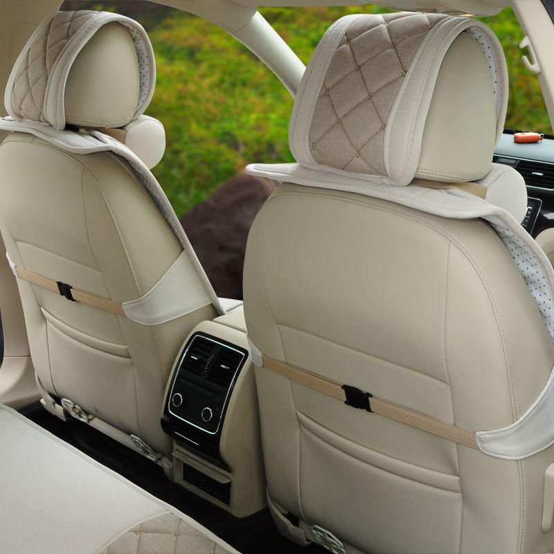 艺芙蓉 yzd1309a 专车专用坐垫 环保亚麻汽车坐垫高清图片