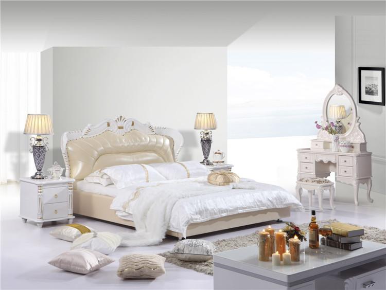 欧式时尚经典休闲款软皮床
