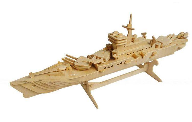 用木头做的模型
